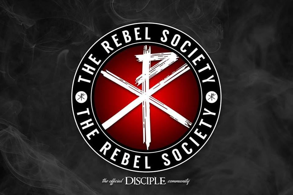 Disciple Launches The Rebel Society on Patreon. This is not a Joke!