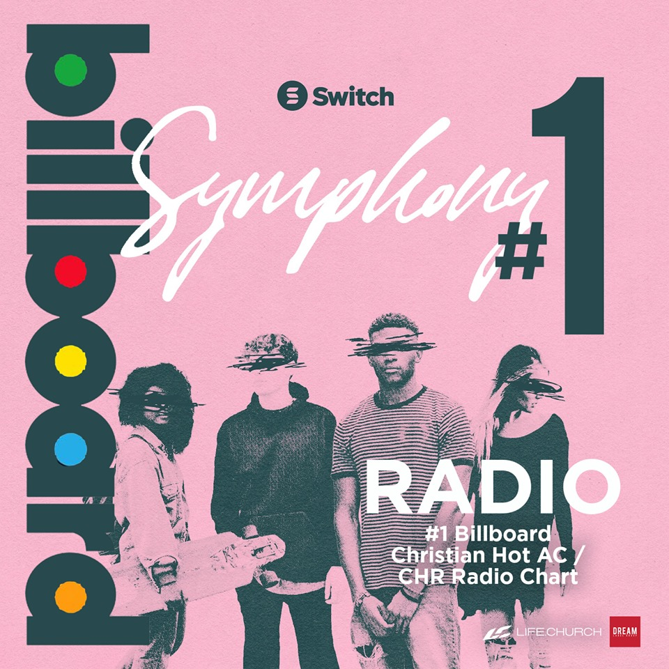 SWITCH's Symphony ft. Dillon Chase Reaches No. 1 on Billboard Hot AC/CHR Chart