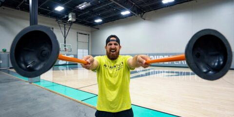 Dude Perfect Do Trick Shots With...Plungers?