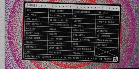 The 116 Summer '19 Playlist Arrives Friday
