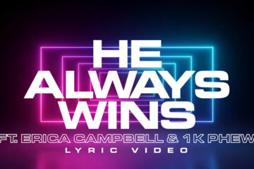 Video: Anthony Brown & group therAPy - HE ALWAYS WINS - ft. Erica Campbell and 1K Phew