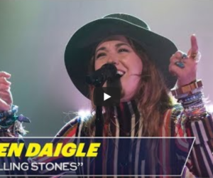 Lauren Daigle Rocks Still Rolling Stones on Late Night with Seth Meyers