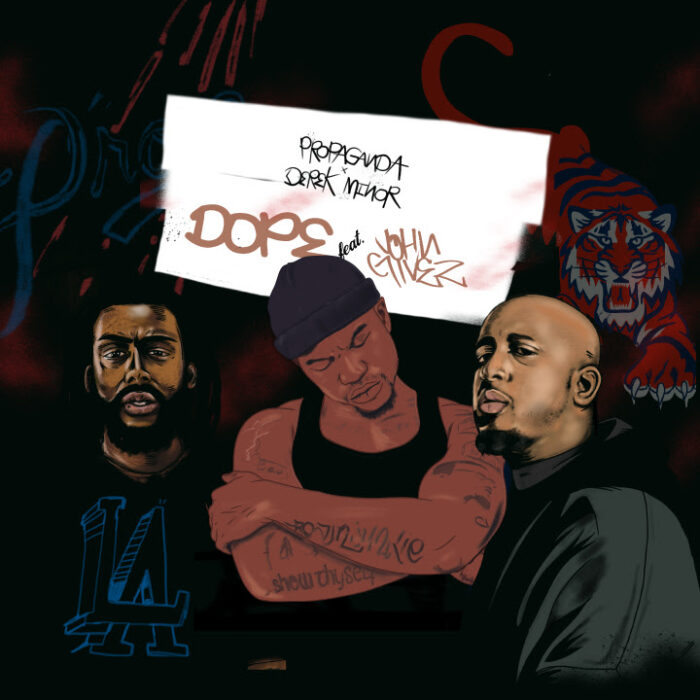 Derek Minor & Propaganda Drop Dope Video