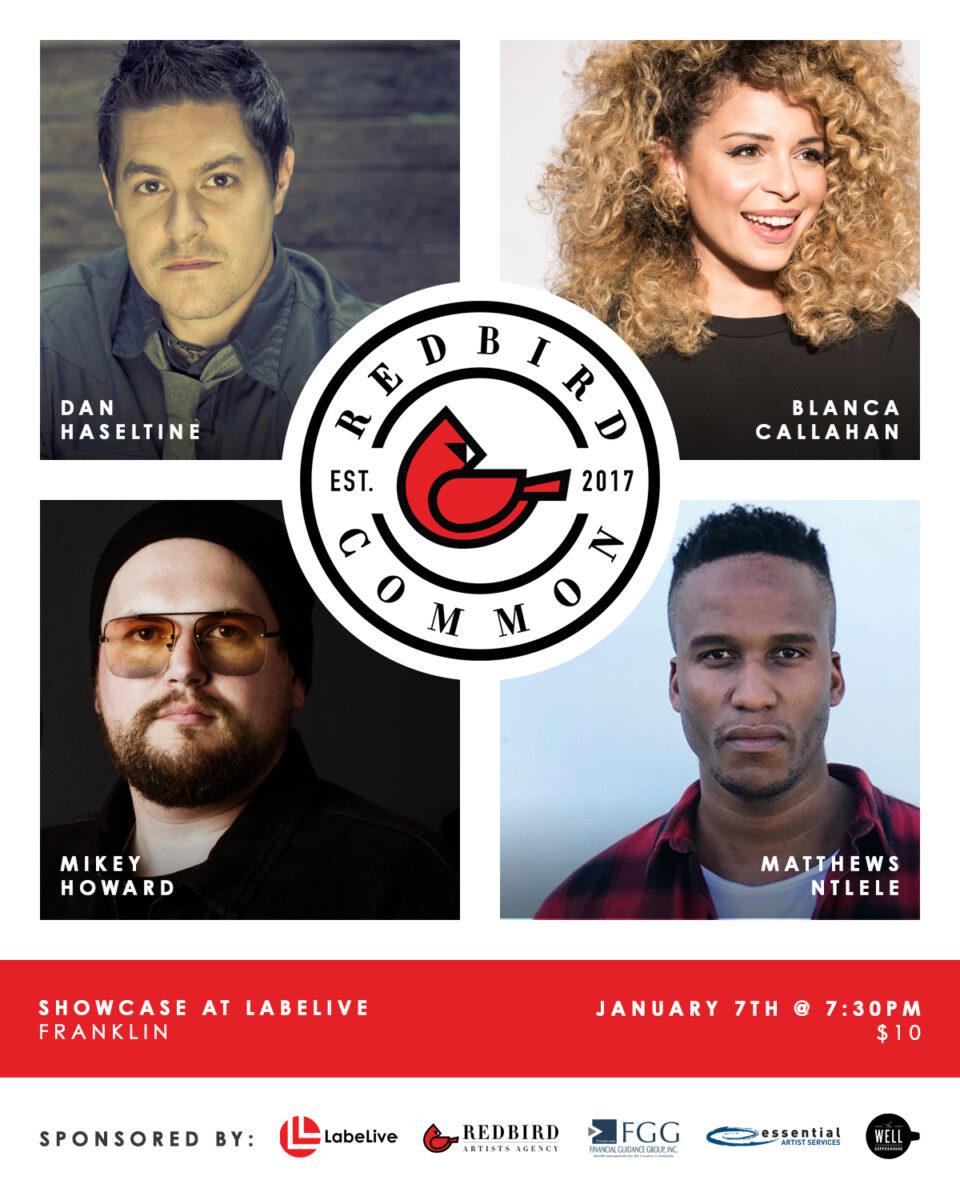 Redbird Common Kicks Off the New Year with Another Amazing Lineup
