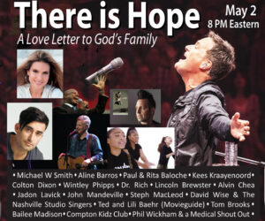 "UP Faith & Family to Partner with The Amazing Grace Experience for a Special ""There is Hope"" Event on Facebook Live this Saturday, May 2"