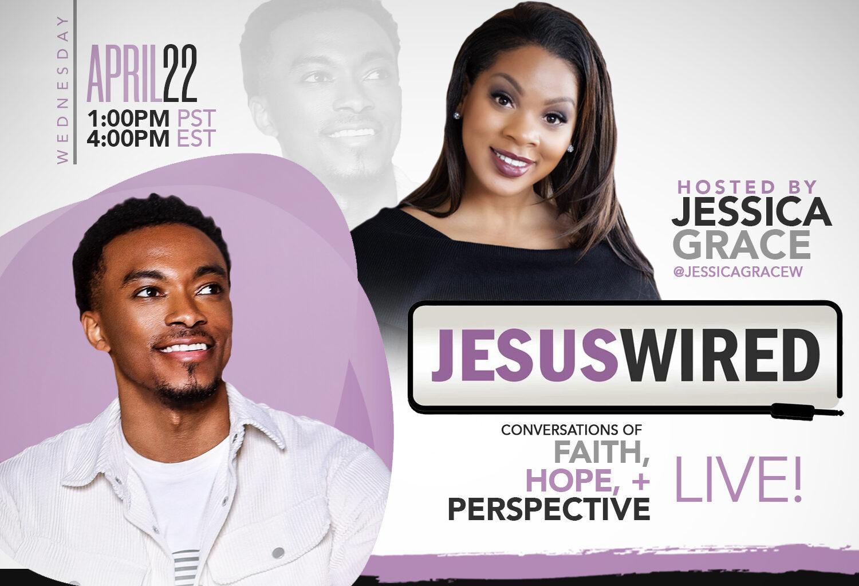 New JesusWired Show Kicks Off Today with Jonathan McReynolds & Jamie Grace - JesusWired Live - Jonathan McReynolds