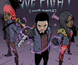 "Datin, 1K Phew, & Wande team up for ""We Fight (Color Purple)"" single"