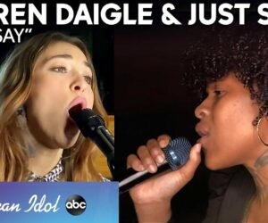Lauren Daigle Returns to American Idol to help Just Sam perform You Say