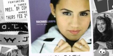 "Rachael Lampa celebrates the 20th anniversary of ""Live For You"""