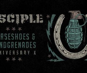 Disciple to Stream Full Production Performance of Album Horseshoes & Handgrenades