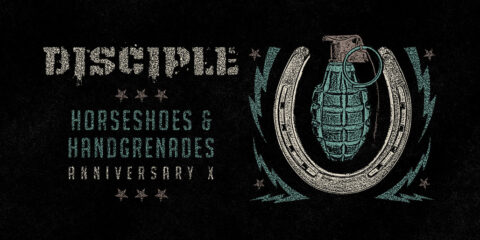 Disciple to Stream Full Production Performance of Album Horseshoes & Handgrenades