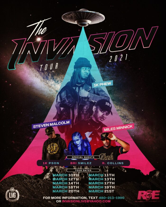 The Invasion Tour Announces 2021 Dates