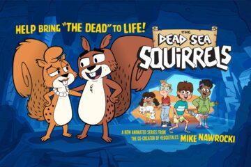 VeggieTales® Co-Creator Mike Nawrocki Announces Kickstarter Campaign To Help Bring THE DEAD SEA SQUIRRELS To Life