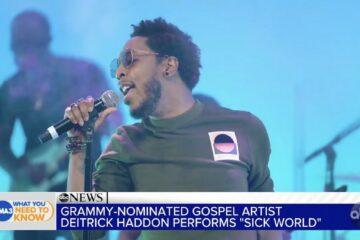 "Deitrick Haddon & Trap King Zaytoven Perform ""Sick World"" on ABC TV's ""GMA3"""