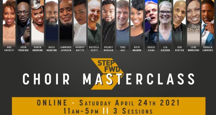 Full line-up announced for the aStepFWD's Choir Masterclass